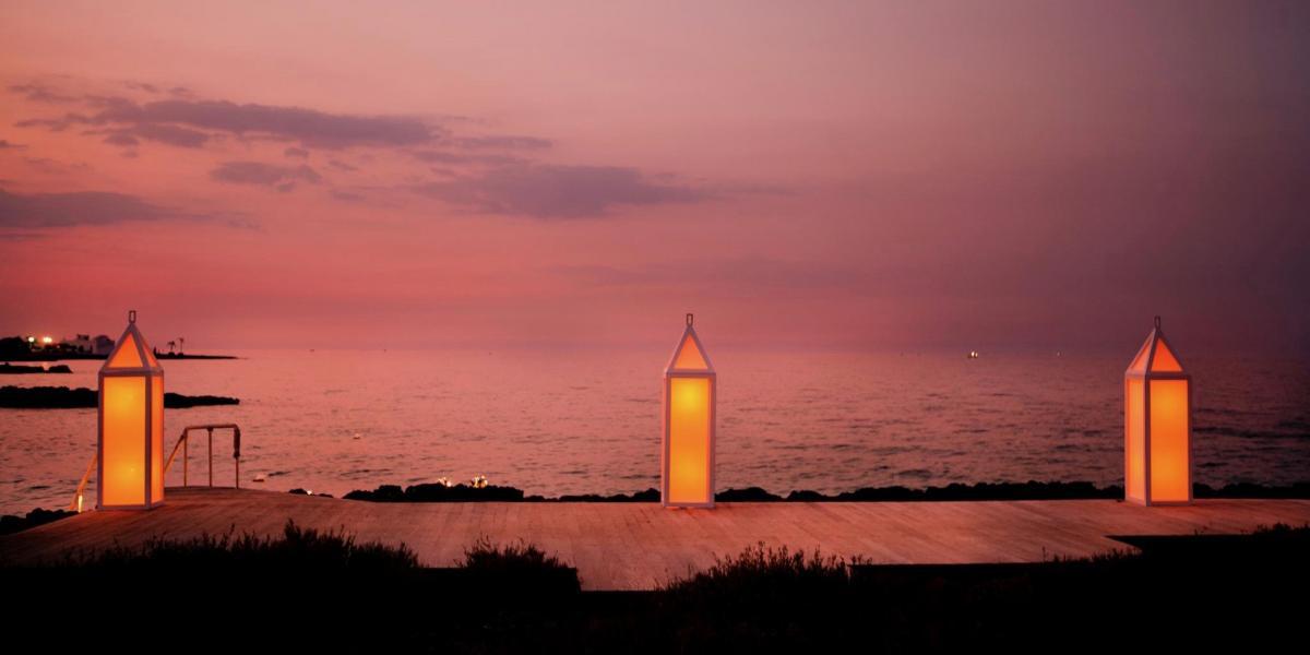 Sunset at Borgo Egnazia, Puglia.