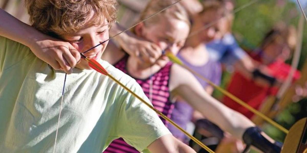 Archery at Crowhurst Park Lodges.