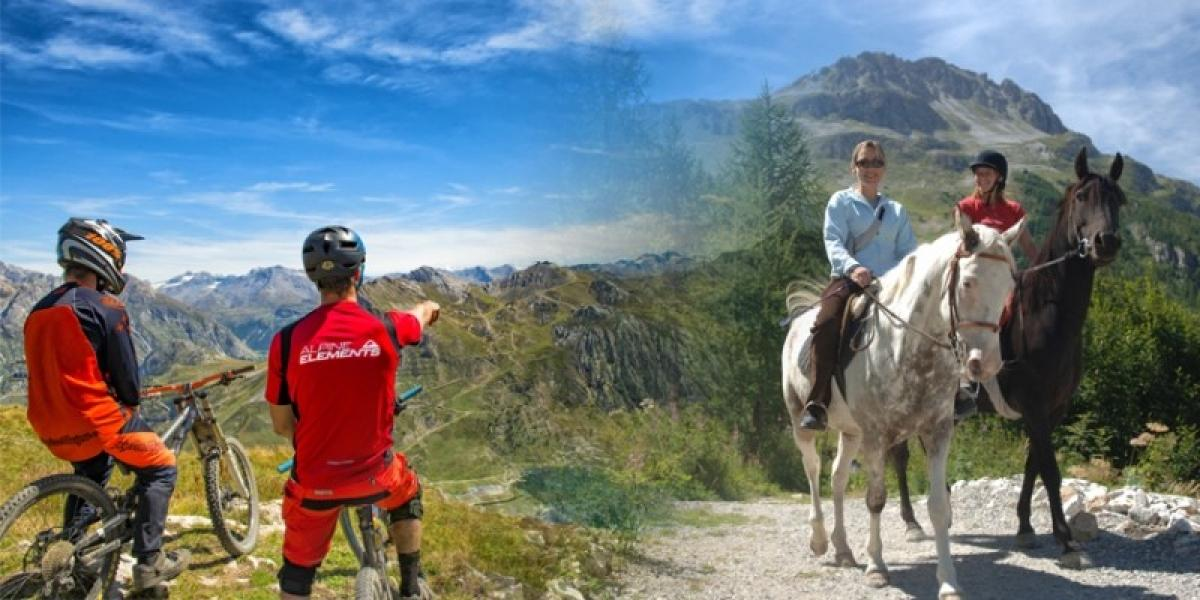 Activity holidays for all the family in Tignes.