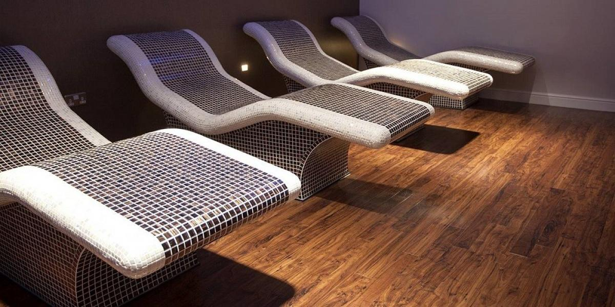 Relaxing spa area of Bannatyne Hotel - Durham.