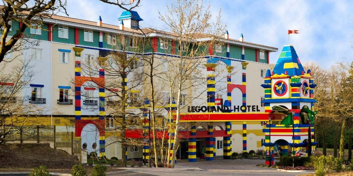 Front view of the Legoland® Windsor Resort Hotel