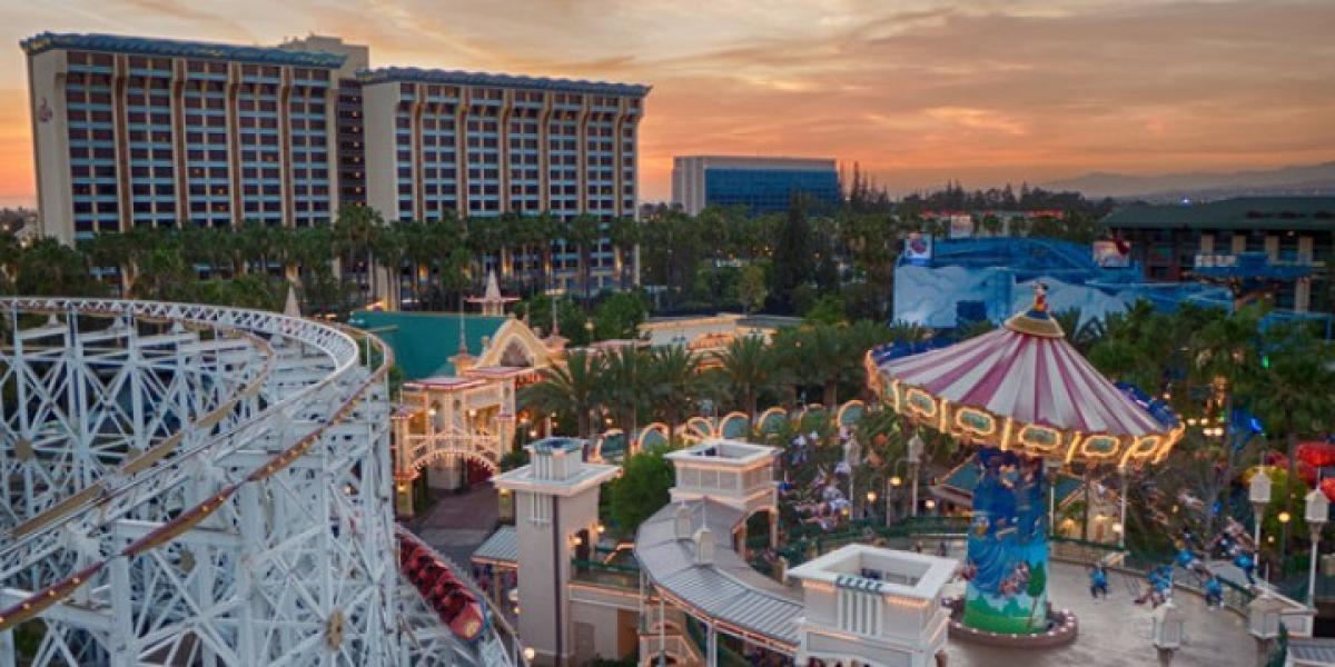 View of Paradise Pier