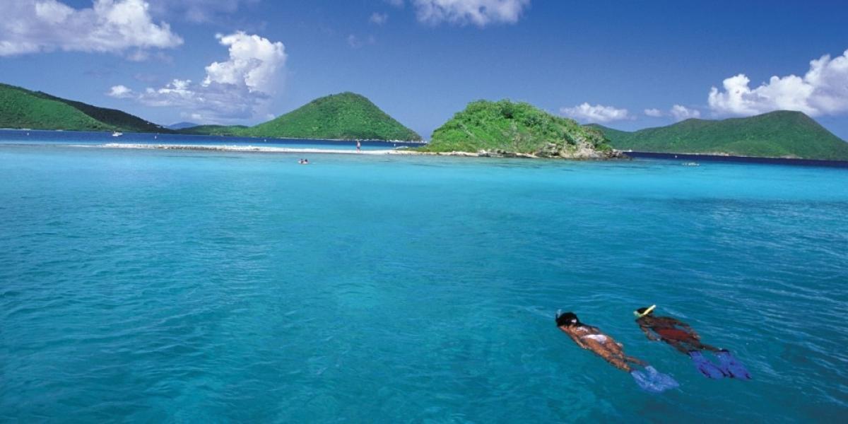 Snorkelling in the US Virgin Islands