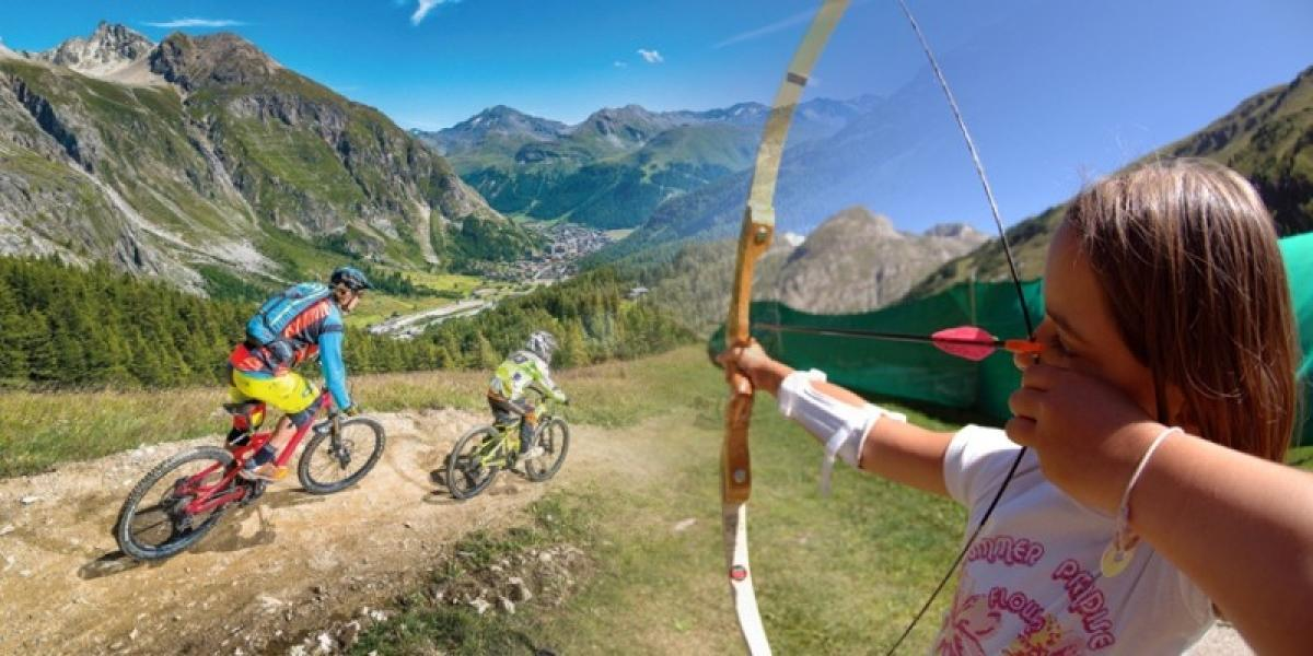 Activity holidays for all the family in Val d'Isere.